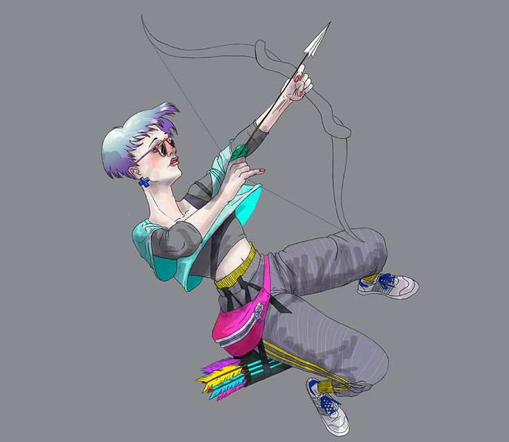 Archer Badass Lady