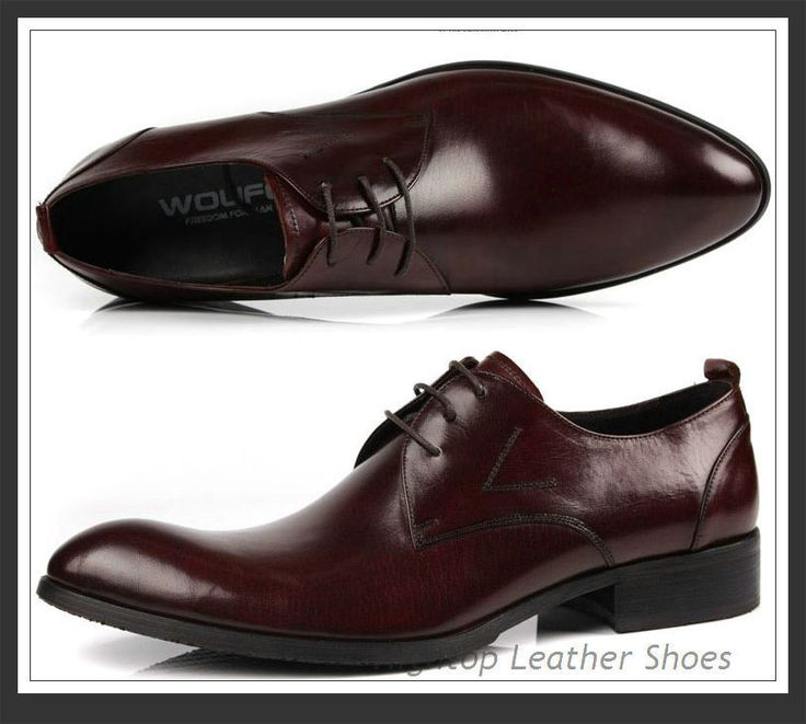 Free shipping 2014 new Hightop formal leather shoes men business leather shoes  oxfords shoes lace up