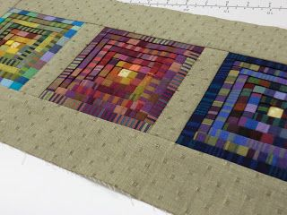 Quilt Whimsy: Folded Log Cabin Instructions Continues. . .