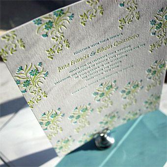 Linnea invitation, Bella Figura