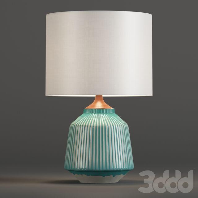 John Lewis Ripple Large Ceramic Table Lamp   Столик для