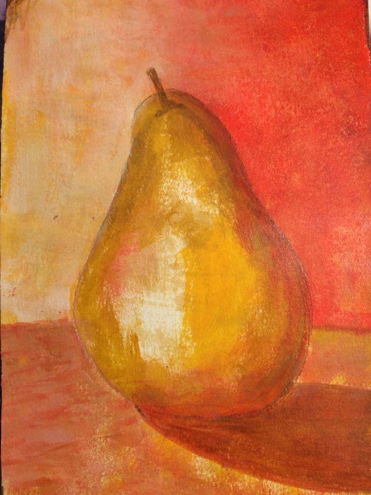 Autumnal Pear. August 2016