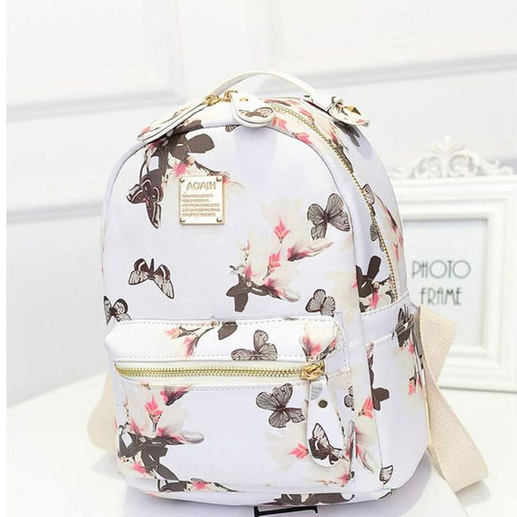 High Quality Floral Print Backpack