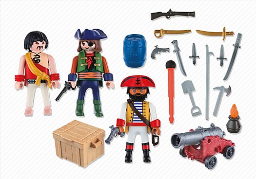Equipage de pirates avec armes - PLAYMOBIL® France