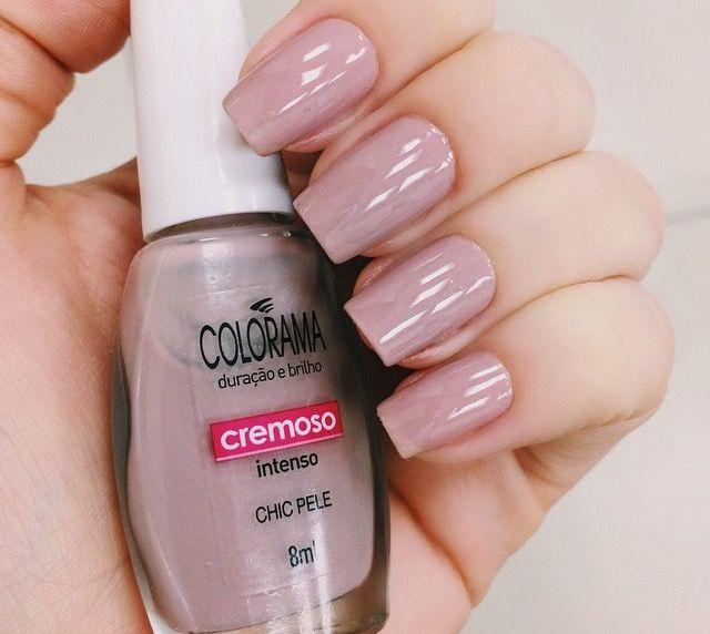 Nude rosado + Colorama + Esmalte