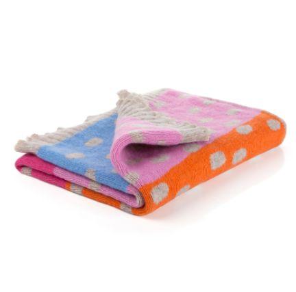 Cocoa Spot Baby Blanket - €85  www.heatherfinn.com
