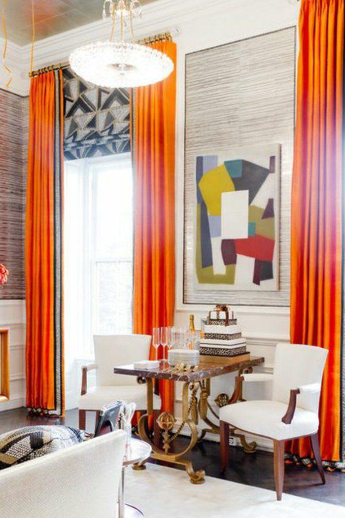 17 meilleures id es propos de grands rideaux de fen tre. Black Bedroom Furniture Sets. Home Design Ideas