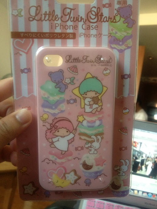cute little twin stars iphone case