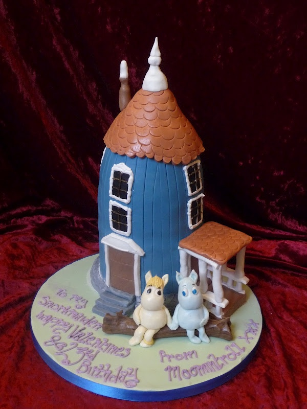 Moomin cake toppers