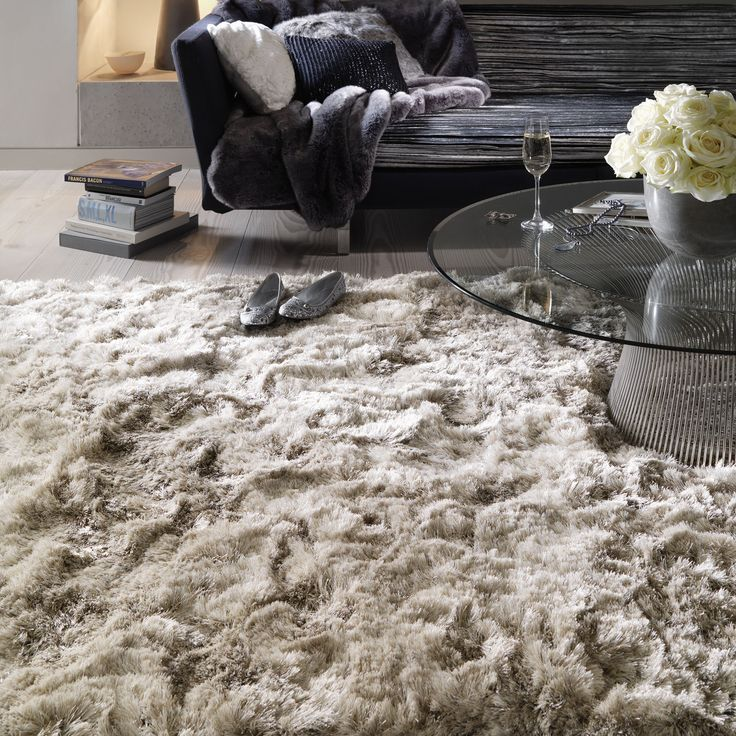 Plush Shaggy Rugs In Sand Buy Online From The Rug Seller Uk Part 76