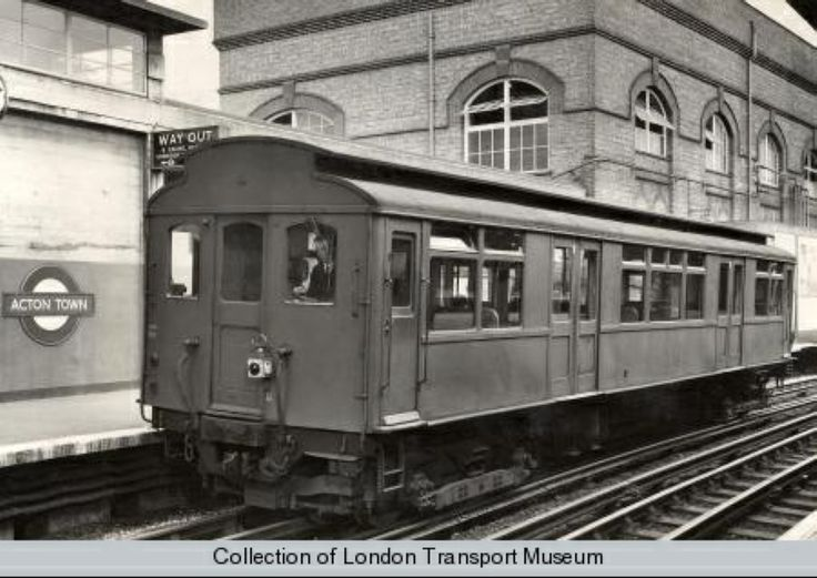 The South Acton shuttle: a single carriage service between Acton Town and South Acton, closed in the 1960s
