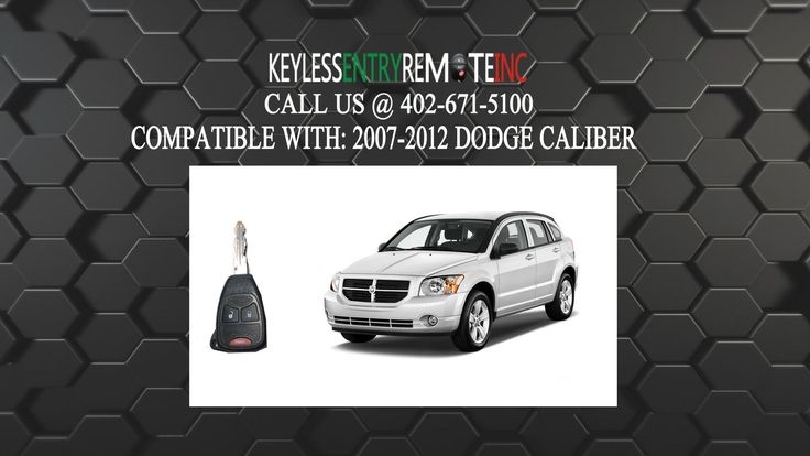 Know More About DODGE Caliber With Dodge Caliber Key Fob – How To Replace Dodge Caliber Key Fob Battery 2007 2008 2009 2010 2011 2012 in Christine 78012 TX.  Dodge Caliber Key Fob This video will show you How To Replace Dodge Caliber Key Fob Battery 2007 2008 2009 2010 2011 2012 To Order...
