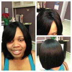 Full Sew in Hairstyles Gallery | Full sew-in weave | Yelp