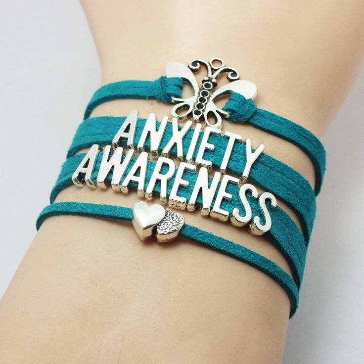 Show your support and help raise awareness with our Anxiety Awareness Bracelet! Remember, not all wounds are visible! We want to encourage people to recognize symptoms and seek treatment - and to give