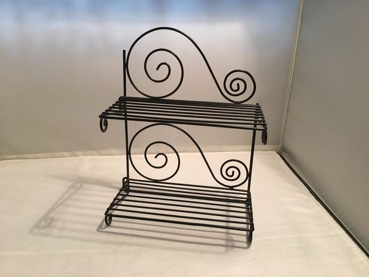Display Rack – Small size ;  Metal -  for Table / Shelf in Home & Garden, Kitchen, Dining, Bar, Utensils, Gadgets   eBay!
