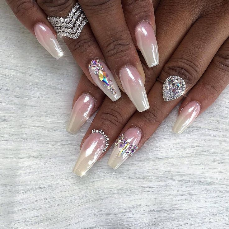 Crystal Chrome Nails: 74 Best Chrome Nails Images On Pinterest