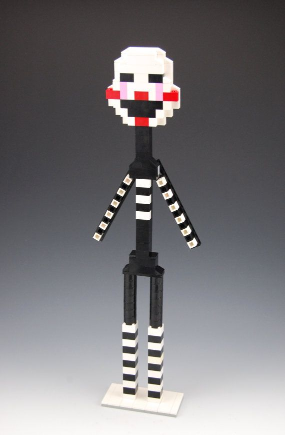 Lego Five Nights at Freddy's Marionette by BrickBum