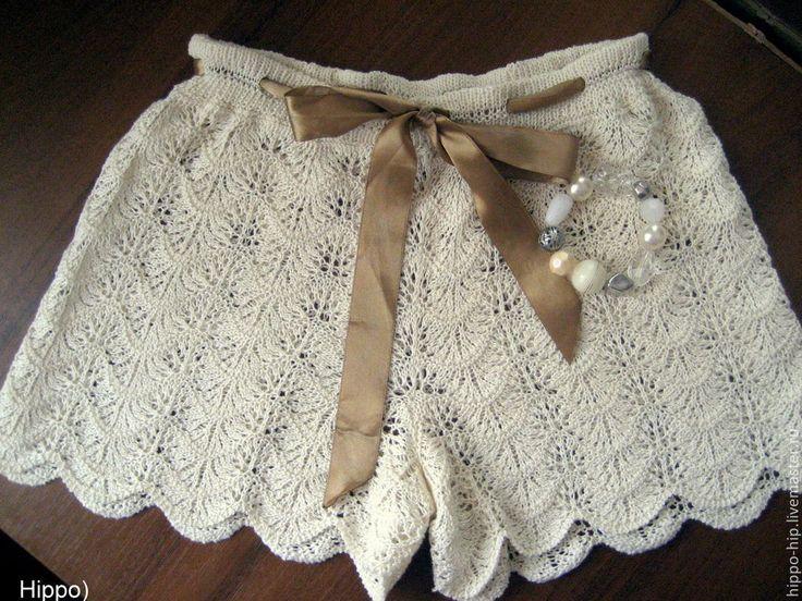 #iшорты_спицами,Купить ШОРТЫ ажурные - вязаные шорты, шорты, ажурные шорты, вязание на заказ, вязание спицами #шорты_на_заказ# #шорты_спицами#
