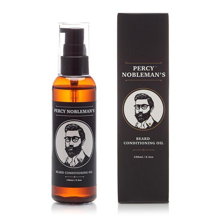 Olejek do brody Percy Nobleman #beard #beardcare #BeardManPL