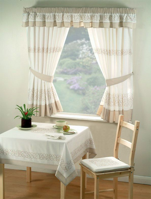 Find This Pin And More On Country Curtains For Rustic Kitchens