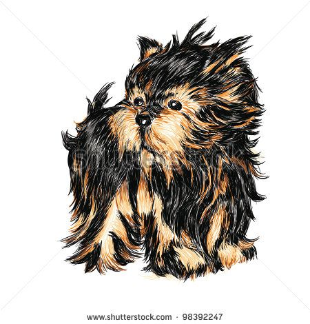 64 Best Images About Yorkie Silhouette On Pinterest