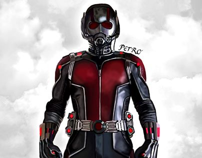 "Check out new work on my @Behance portfolio: ""Ant-man"" http://be.net/gallery/41054705/Ant-man"