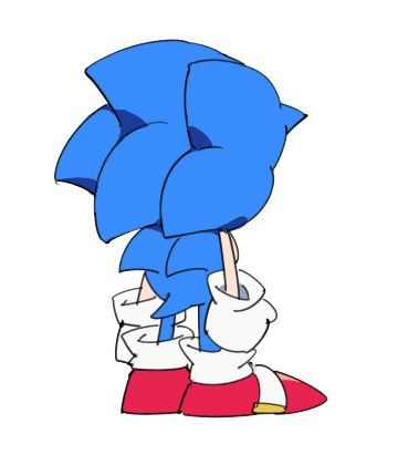 Sonic please stop being so cute...