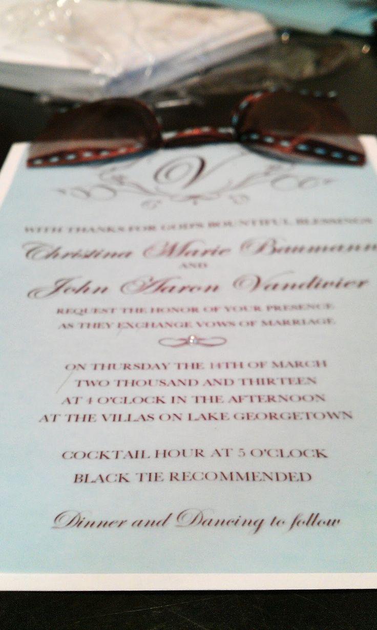 addressing wedding invitations married woman doctor%0A How To Make Your Own Wedding Invitations for under      u     BridalTweet Wedding  Forum  u     Vendor