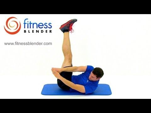 6 Pack Abs Workout - Six Pack Abs or Bust, Fitness Blender