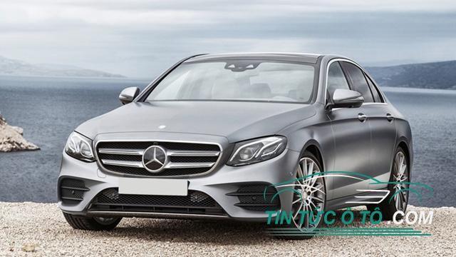 Mercedes-Benz E-Class 2016 bị triệu hồi tại Úc vì lỗi cần gạt nước