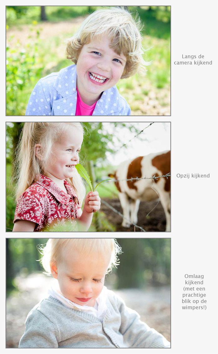 Oogcontact en kijkruimte bij (kinder)portretten