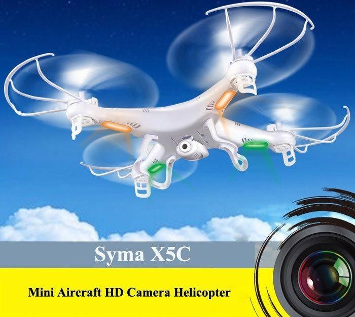 X5C-1 RC Nuova Versione Syma X5C-1 Drone Bnf Quadcopter con la Macchina Fotograf