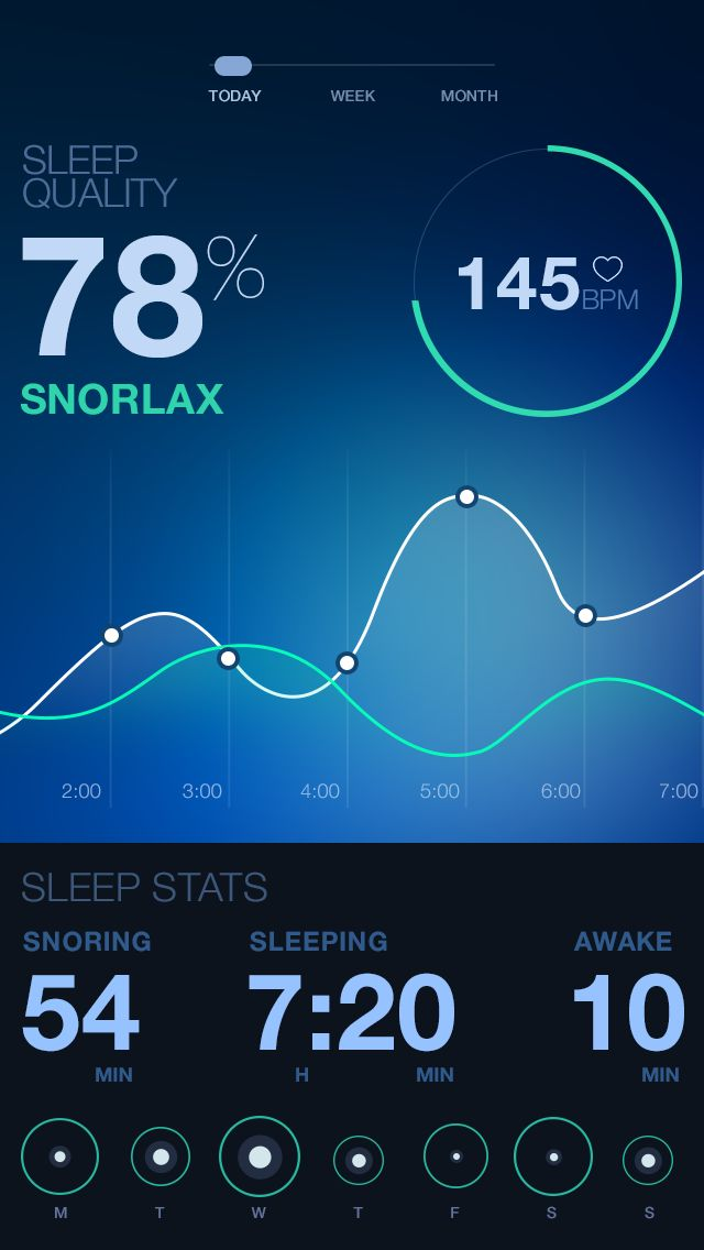 sleep quality app #app #mobile #sleep #health #design #ux #ui