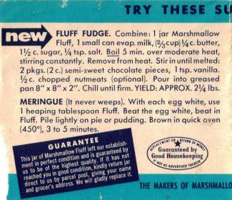 Marshmallow Fluff Fudge Recipe