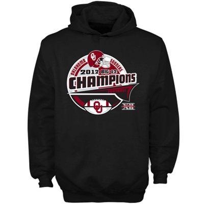 Oklahoma Sooners 2012 Big 12 Football Champions Locker Room Hoodie