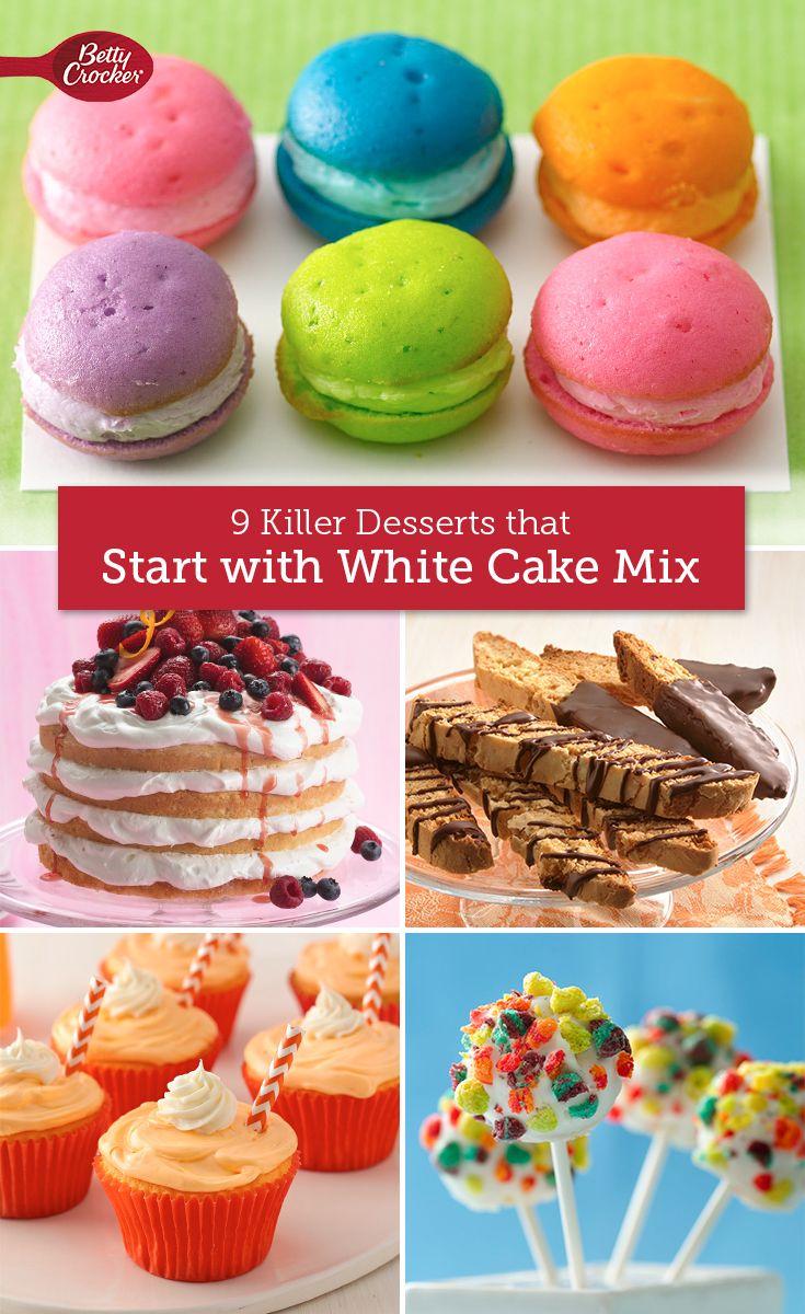 Betty crocker white cake cupcake recipe