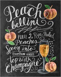 Lily & Val - Peach-Bellini-Rezept