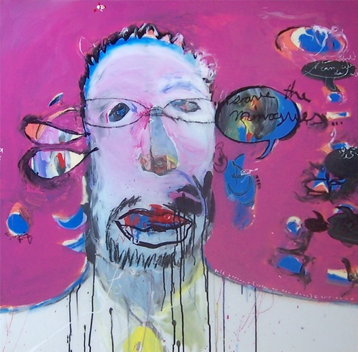 Self Portrait (Notes to Ken Done), Anthony Bennett