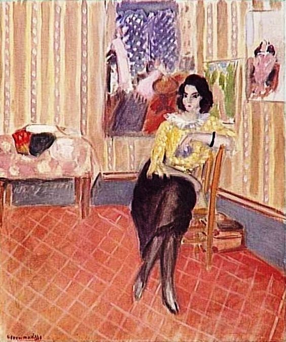 Henri Matisse - Portrait of His Daughter Margaret, 1921 | Pinturas preferidas | Pinterest | Henri matisse, Filhas e Retrato