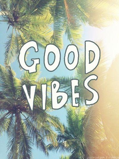 Good Vibes Palm Trees