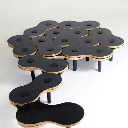 Great reconfigurable coffee table! >>> ELOS Table