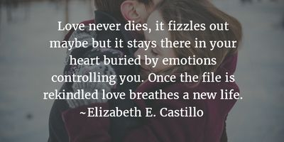 - Delighfully Heartwarming Rekindled Love Quotes - EnkiQuotes