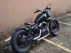 Yamaha Virago XV250 Bobber Motorcycle. I covet this...