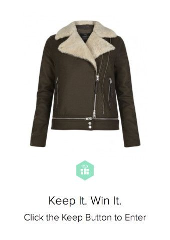 Oh how bad I want it. Win an #AllSaints coat from Keep!