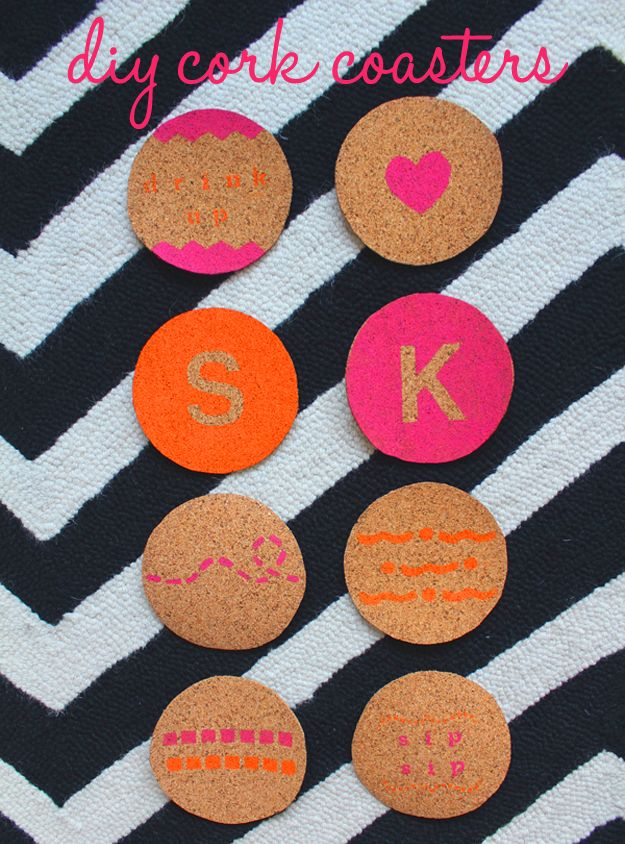 Cork coasters craft box diy to go craft box diy for Cork coasters for crafts