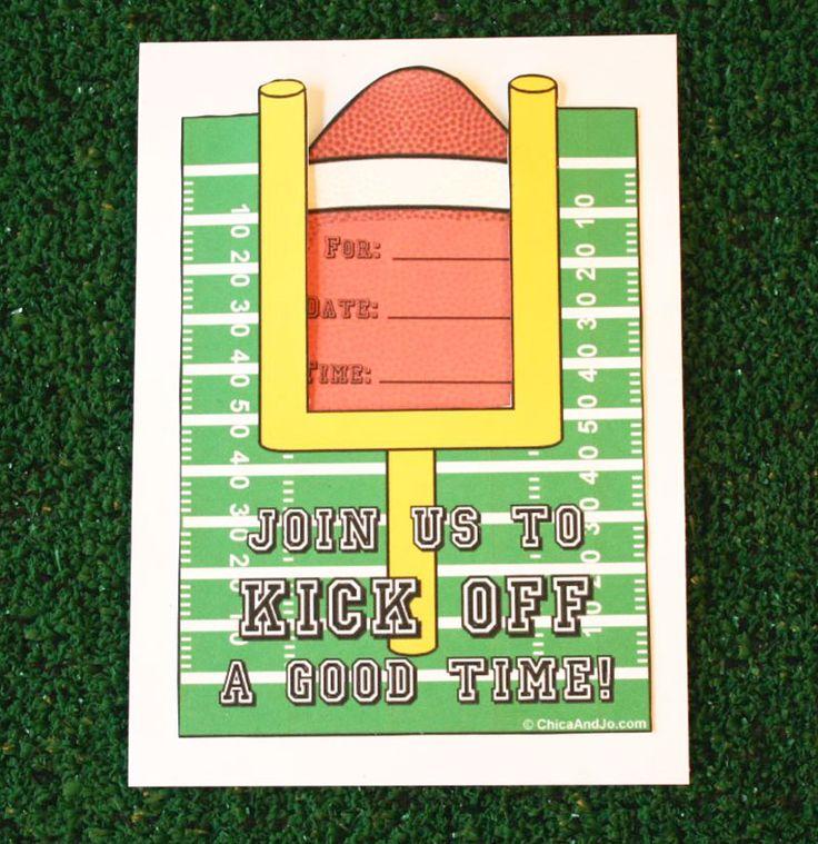 Best 25+ Football party invitations ideas on Pinterest   Football ...