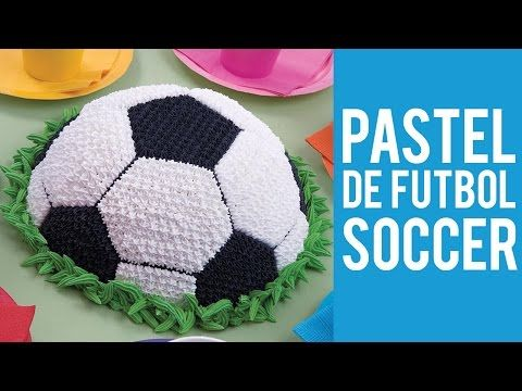 Pastel de Futbol Soccer - YouTube