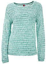 heine loose knit jumper pastels freemans
