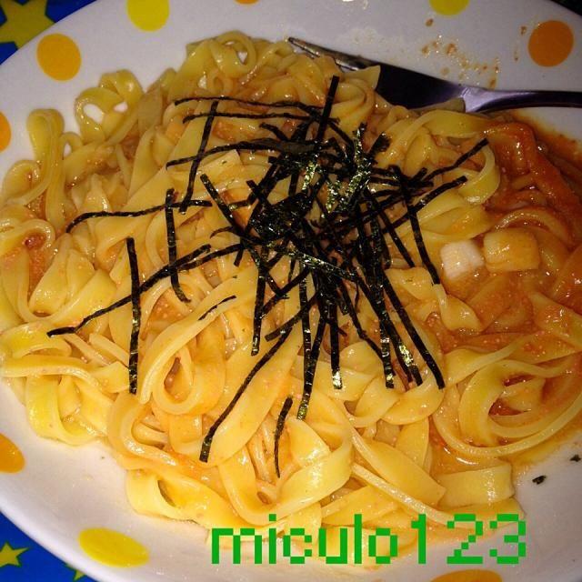 生パスタ大好き - 72件のもぐもぐ - 小柱の明太生パスタ by miculo123