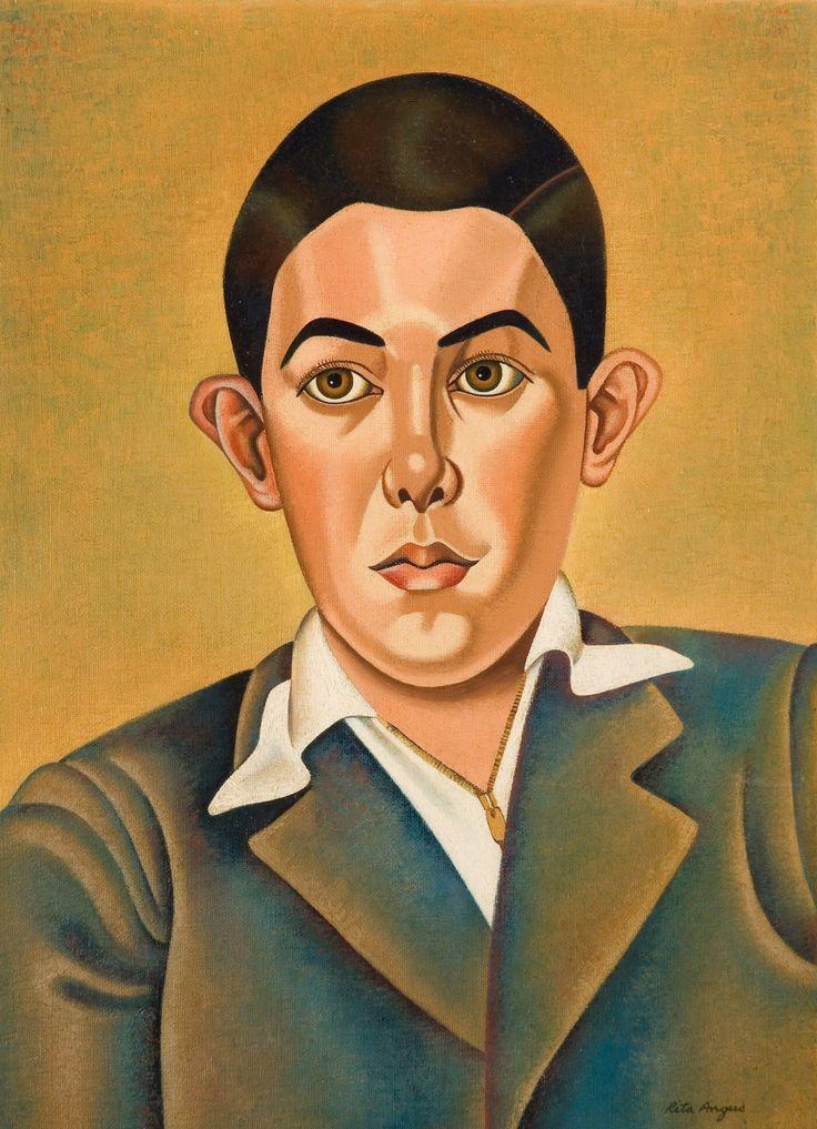Portrait of a Boy - Rita Angus 1957